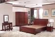 北京木言木語專業定做中式全實木床