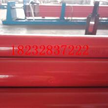 西宁/钢套钢岩棉保温钢管生产厂家√(中闻资讯)图片
