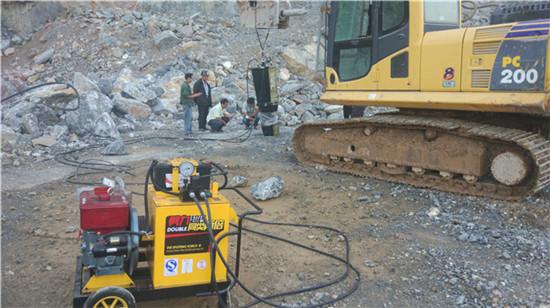 泸州市液压无声开采岩石劈裂器