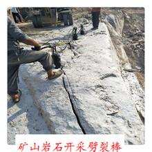 汉中市大块石头打不动二次破碎机图片