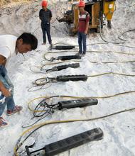 涿州市礦山解體堅硬石頭分裂機圖片