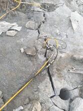 安阳市小型石头劈裂机市场行情图片