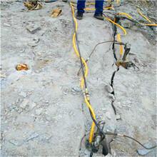 赤峰市矿山施工液压劈裂机工作原理图片