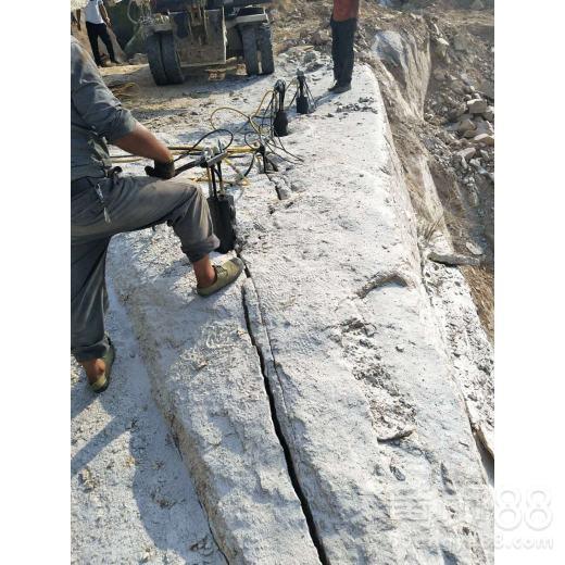 基坑破碎岩石劈裂机陇南市
