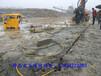 水庫修建破石液壓劈裂機