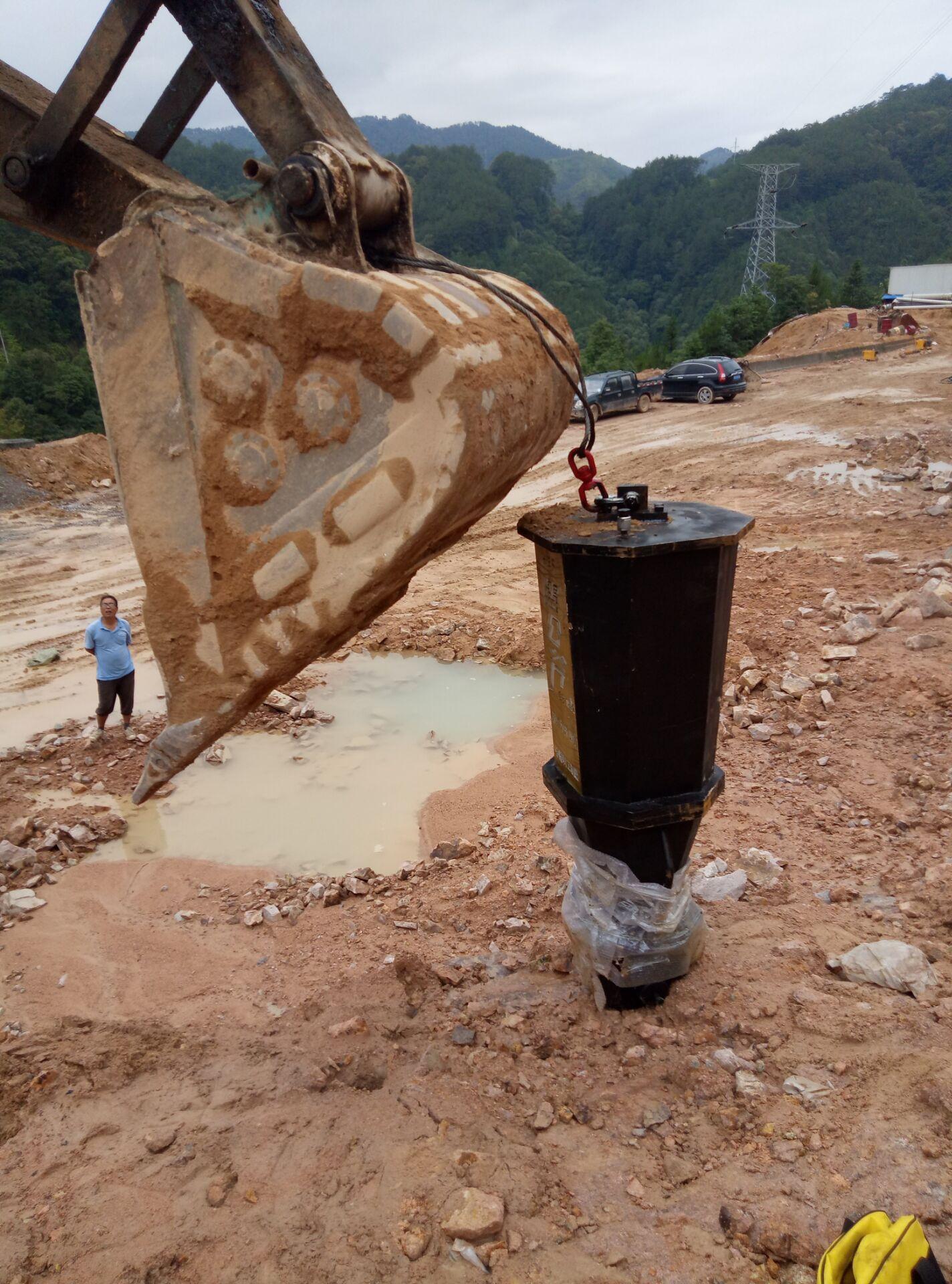 孔桩开挖房地产开挖劈裂机