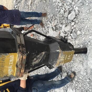 矿山开采设备岩石劈裂青石开采代替风镐的露天矿山开采破岩石机
