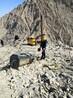 矿山石材开采房屋挖地