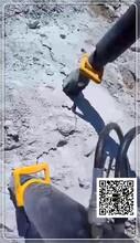 通江县矿采石头不能气体爆破裂石机日价格报表图片