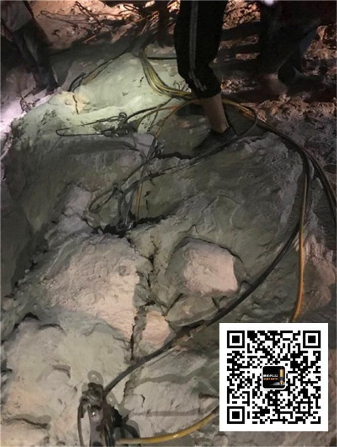 河道维修岩石破除大理石劈力棒吐鲁番