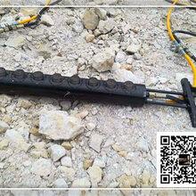 炎陵縣基坑槽管破石液壓裂石機新格圖片