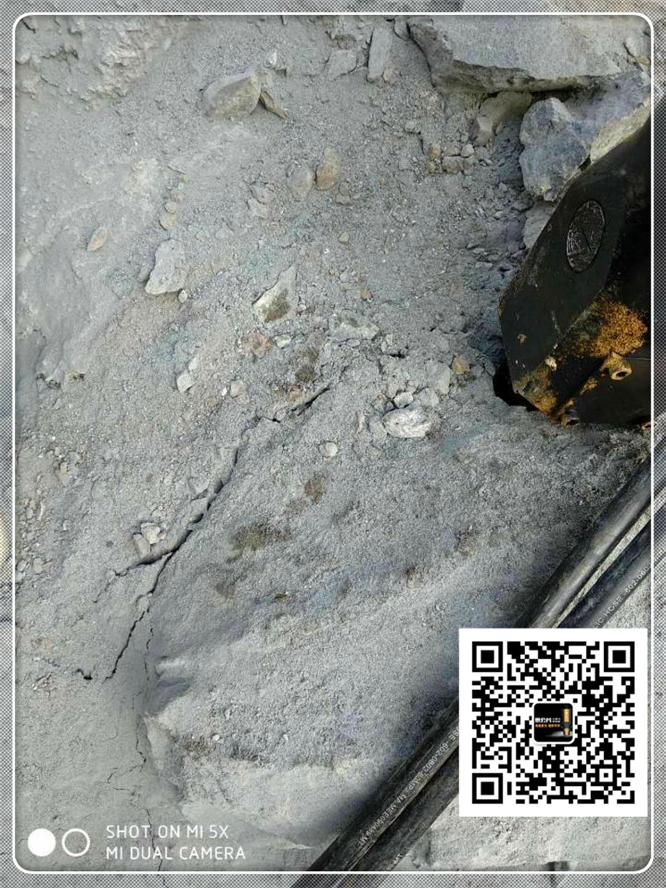 大型矿山开采岩石分裂机.安庆市