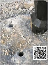 黑河市地基开挖大型分裂机设备厂家图片