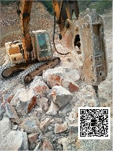 即墨市石头岩石山开采电动顶石器制造点图片