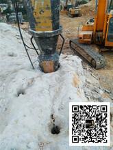 矿山开采电动劈裂机劈山机九龙坡区图片
