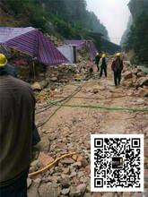 山东泰安适合大方量开采岩石分裂机招商图片
