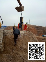自贡市房屋基础挖掘石英石石头劈裂机图片