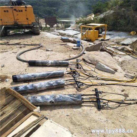 高速修建邊坡巖石分裂機