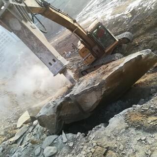 高速修建邊坡巖石分裂機圖片6