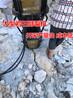 石頭硬碎錘打不動液壓劈裂機