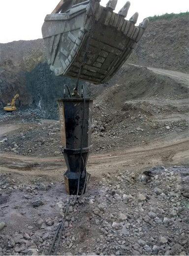 矿山液压岩石分裂机