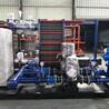 江苏苏州常州无锡员工宿舍热水工程配套板式换热机组