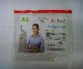 厂家供应透明pvc文件拉链袋资料袋pvc收纳自封袋可印刷logo