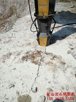 劈裂棒代替放炮开山破石基坑开挖怀化哪里有卖