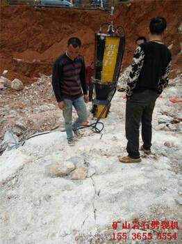 岩石劈裂棒有多大的破石威力青岛用户评价