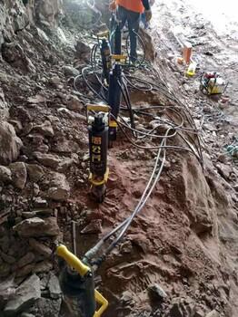 居民区附近的采石场不用爆破有什么机械代替厂家直销