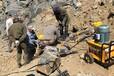 锦州矿山上用什么设备可以破开石头代替放炮一套多少钱
