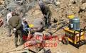 工程中硬石头打不动不能爆破怎么办减少人工费用多少钱一台