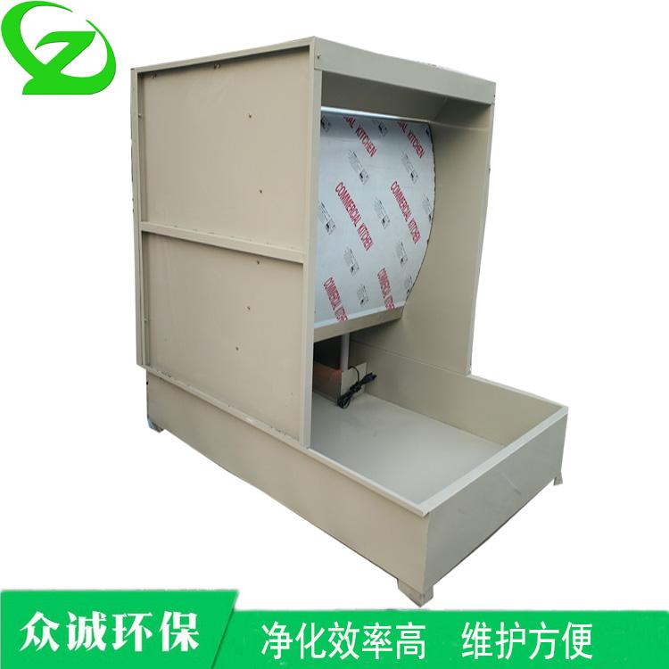 水帘式喷漆柜家具厂烤漆房废气处理设备