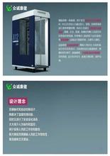 福建-公司复工专用测温消毒通道智能测温+人员消毒通道图片