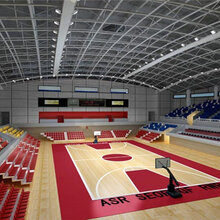 铜川市篮球馆运动木地板挑选不能马虎图片