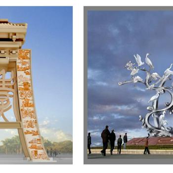 艺术院校雕塑设计作品赏析