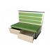 带储物柜抽屉沙发订制价格香港餐厅防火阻燃卡座沙发厂家供应