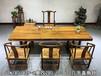 奥坎花梨木实木大板桌会议桌餐桌吧台书桌画案