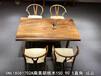 胡桃木直角边书桌会议桌茶桌