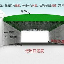 吉林长春专业生产大型伸缩帐篷烧烤餐饮伸缩移动雨棚图片