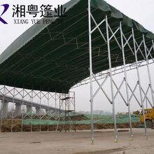 吉林船营全国定做大型活动雨棚PVC帆布定做伸缩遮阳篷图片