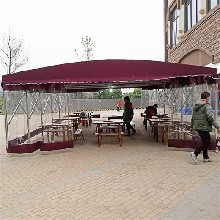 来宾金秀县环保移动推拉篷电动推拉蓬物流仓储推拉棚欢迎洽谈图片
