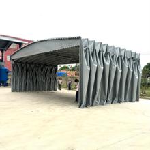 上饶鄱阳县防雨伸缩遮阳蓬大型移动推拉蓬制造东森游戏主管东森游戏主管优图片