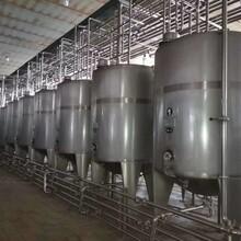 南充乳品廠發酵罐廠家直銷圖片