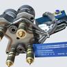 河南热流道一出四针阀双色模具系统外壳尼龙加纤TPU软胶密封圈阀针嘴模具热流道系统