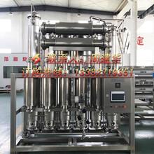 浙江300L/H電多效蒸餾水機廠家價格圖片