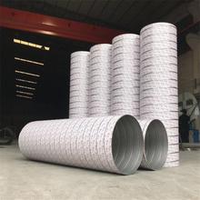 肇庆不锈钢螺旋风管厂家生产加工螺旋风管及配件图片