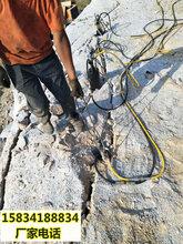 成本低的破石头机器劈裂棒武夷山-24小时热线图片