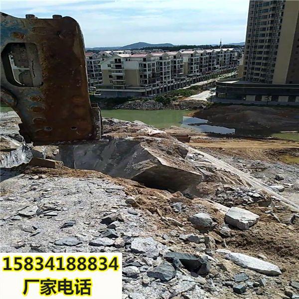 塔城采石場不能放炮怎么辦用什么機器-破石方案