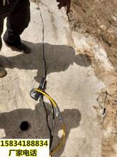 矿洞岩石劈裂机破石分裂机沧州实力企业图片